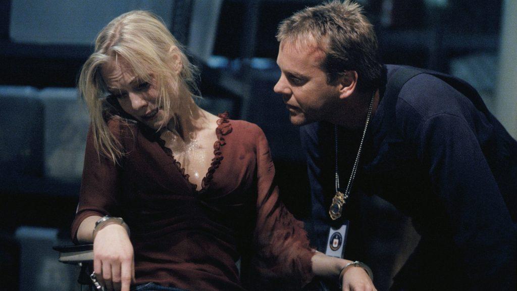 Jack Bauer interrogates Marie Warner