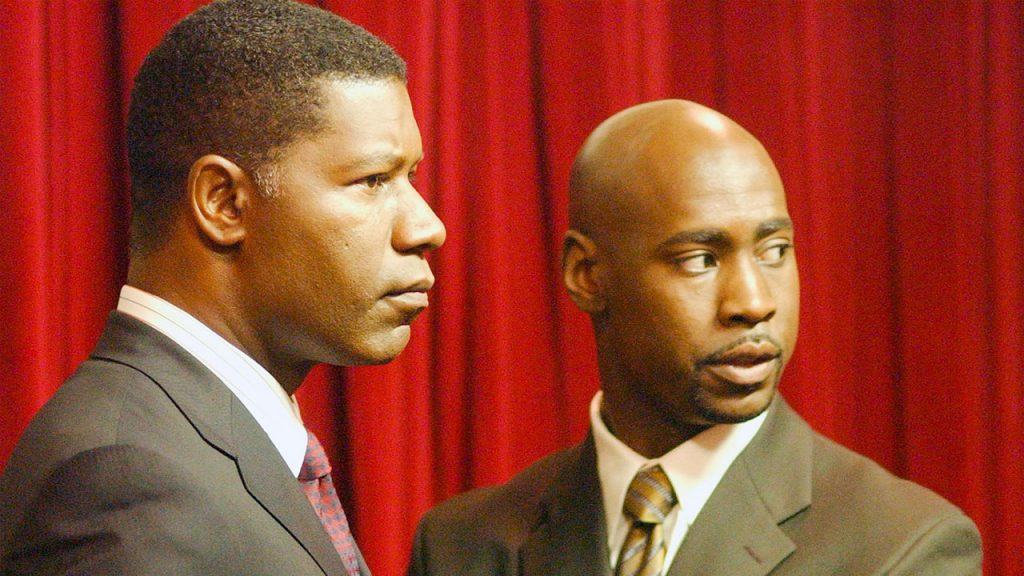 Dennis Haysbert and D.B. Woodside in 24 Season 3
