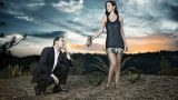Smokin' Hot Annie Wersching & Kiefer Sutherland photo